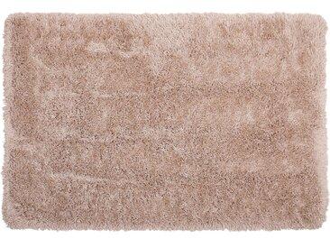 Teppich beige 140 x 200 cm Shaggy CIDE