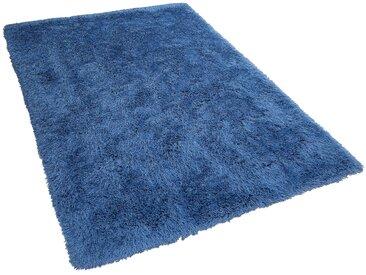 Teppich blau 200 x 300 cm Hochflor CIDE