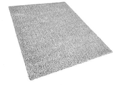 Teppich grau meliert 160 x 230 cm Shaggy DEMRE