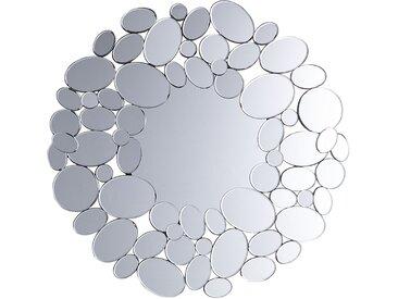 Wandspiegel silber kleine Ovalen ø70 cm LIMOGES