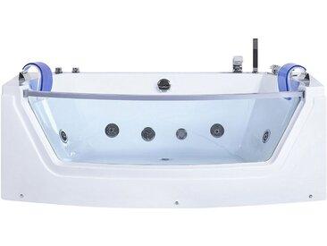 Whirlpool Badewanne mit LED FUERTE