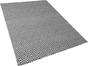 Outdoor Teppich schwarz/weiß 160 x 230 cm IMIRCIK
