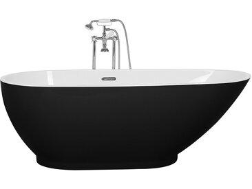 Badewanne freistehend schwarz GUIANA
