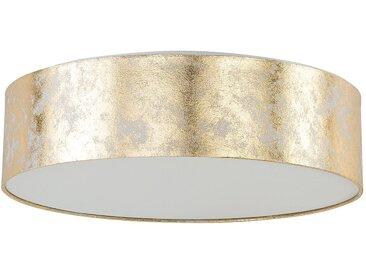 Deckenleuchte gold 3-flammig Trommelform RENA