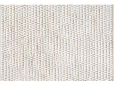Teppich beige 160 x 230 cm Kurzflor TUNCELI