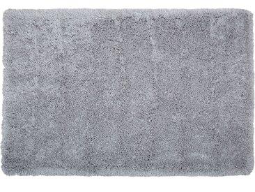 Teppich hellgrau 160 x 230 cm Shaggy CIDE