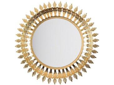 Wandspiegel gold rund ø60 cm VOREY