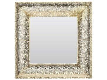 Wandspiegel gold quadratisch 60 x 60 cm PLERIN