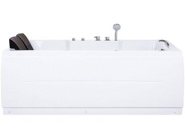Whirlpool-Badewanne rechts mit LED PENSO
