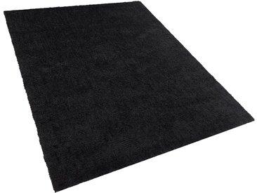 Teppich schwarz 160 x 230 cm Shaggy DEMRE