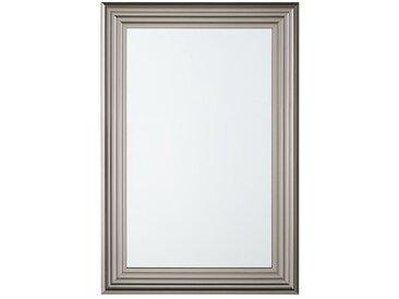 Wandspiegel silber rechteckig 61 x 91 cm CHATAIN