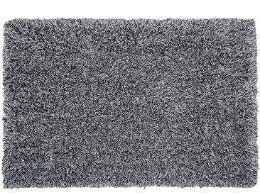 Teppich schwarz-weiß 200 x 300 cm Shaggy CIDE
