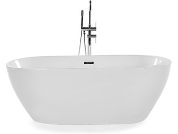 Badewanne freistehend oval 160 cm NEVIS