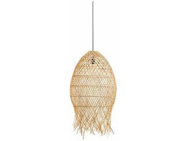 Lampenschirm Sif aus Rattan, Ø50 cm
