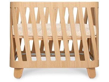 Babybett Muka Basis aus Holz, naturfarben, B70xL90 cm