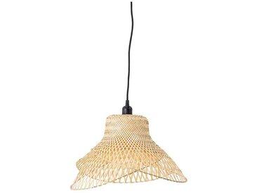 Deckenlampe aus Bambus, naturfarben, Ø48 cm