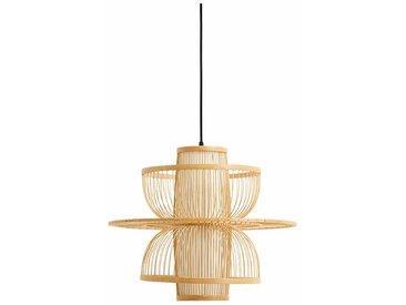 Lampenschirm Sigyn aus Bambus, Ø47 cm