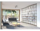 "Bibliothek ""Pure Elegance"" – konfigurierbar   500 x 299 x 50 cm   Weiß MDF"
