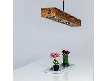 Hängeleuchte aus Massivholz inkl. LED Leuchtmittel - Handarbeit aus Österreich