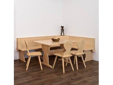 Traditionelle Eckbank aus Massivholz | stabile Handarbeit aus Südtirol I verschiedene Größen erhältlich