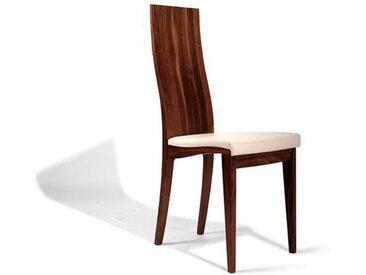 Eleganter Stuhl mit Weisspolster - 'Sitwell Fine Cushion'