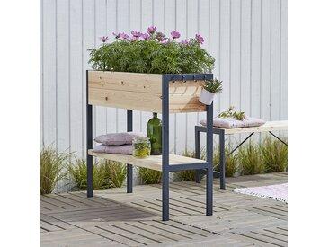 Pflanzkasten auf Beinen | Hochbeet für Außen- und Innenbereich geeignet