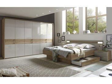 Schlafzimmer 4033 in Eiche Selia Optik/kristallgrau