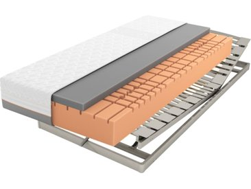 Matratzenset Geltex Starline X9, Härtegrad 2, Lattenrost Platin 28 Plus NV