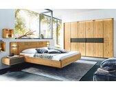 Schlafzimmer WSM 1600 in Wildeiche massiv/cubanit