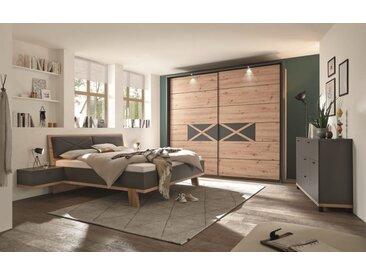 Schlafzimmer 4001 in Artisan Eiche-Nachbildung/graphit