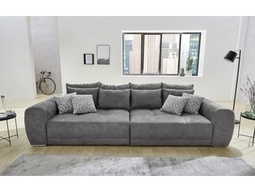 Big Sofa Moldau in grau