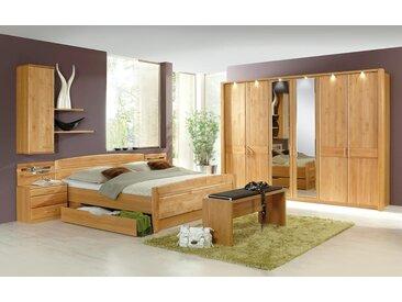 Schlafzimmer Lausanne in Erle teilmassiv