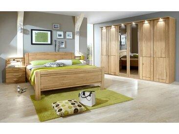 Schlafzimmer Borkum in Eiche teilmassiv