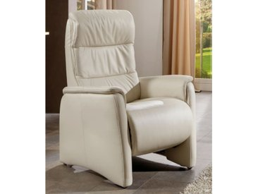 Funktionssessel Rimini-L in Vivre creme, Ergonomie medium-plus, mit motorischer Verstellung