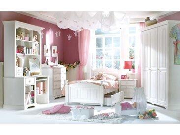 Jugendzimmer Cinderella Premium in Kiefer weiß lackiert massiv