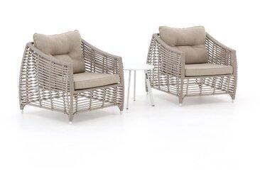 Manifesto Ortello/Bovezzo Lounge Balkon-Set 3-teilig