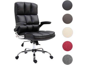 Bürostuhl HWC-J21, Chefsessel Drehstuhl Schreibtischstuhl, höhenverstellbar