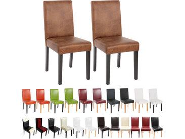 2x Esszimmerstuhl Küchenstuhl Stuhl Littau