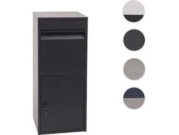 Paketkasten HWC-G80, Paketbox Standbriefkasten Paketbriefkasten Briefkasten Größe L
