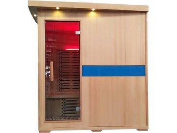 Infrarotkabine HWC-D49, Infrarotsauna Wärmekabine, Musik LED Sicherheitsglas Sauerstoff