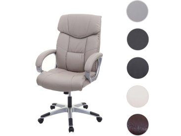 Bürostuhl HWC-A71, Chefsessel Drehstuhl, Kunstleder