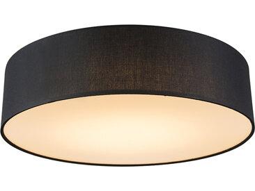 Modern Deckenleuchte schwarz 40 cm inkl. LED - Drum (nicht