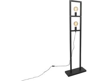 Industrie Industrie Stehlampe 2 Lampen schwarz - Simple Cage 2
