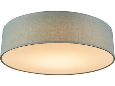 Modern Deckenleuchte grün 40 cm inkl. LED - Drum