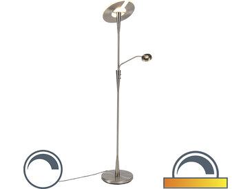 Modern Moderne Stehlampe Stahl inkl. LED mit Lesearm - Moderno