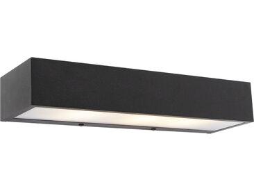Design Design längliche Wandleuchte schwarz 35 cm - Houx G9