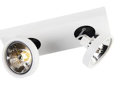 Modern Moderner Spot weiß schwenkbar und neigbar - Go 2 G9