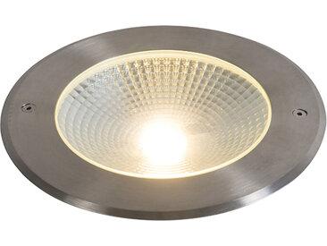 Modern Moderner Bodenstrahler Aluminium inkl. LED 20W - Bridge