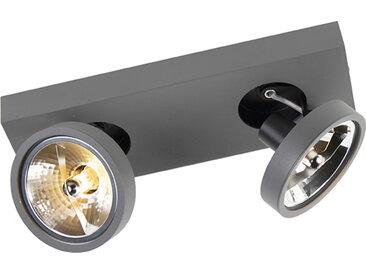 Modern Moderner Spot anthrazit schwenkbar und neigbar - Go 2 G9