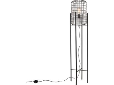 Industrie Industrielle Stehlampe schwarz - Bliss Vefa E27
